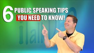 6 Public Speaking Tips You Need To Know